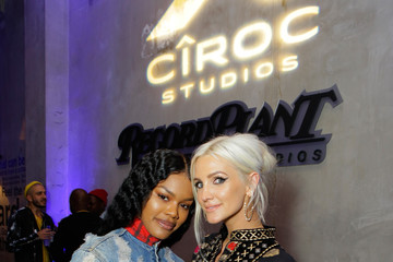 Teyana Taylor CIROC Studios Launch Event Hosted By DJ Khaled At The iconic Record Plant Studios