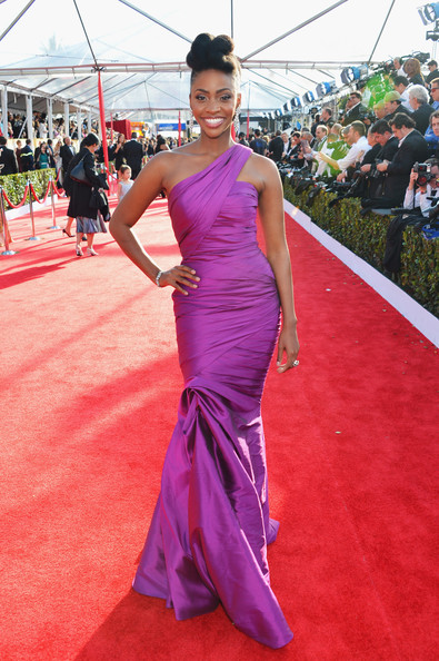 Teyonah Parris - 19th Annual Screen Actors Guild Awards - Red Carpet