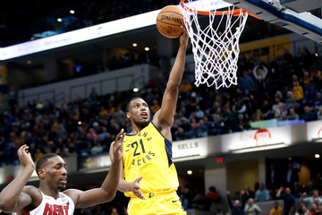 Thaddeus Young Miami Heat v Indiana Pacers