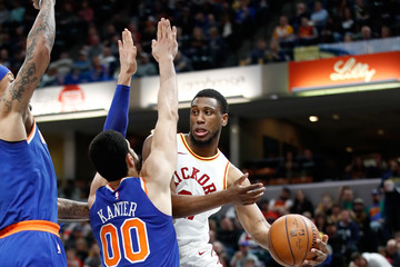 Thaddeus Young New York Knicks v Indiana Pacers