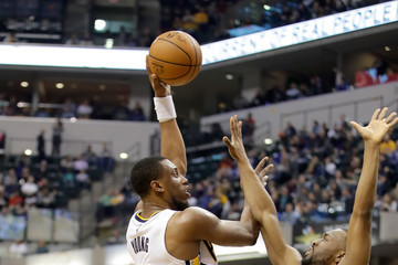 Thaddeus Young Charlotte Hornets v Indiana Pacers