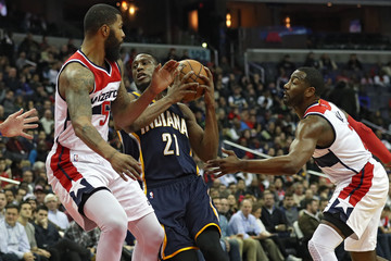 Thaddeus Young Indiana Pacers v Washington Wizards
