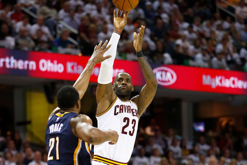 Thaddeus Young Indiana Pacers v Cleveland Cavaliers - Game Two