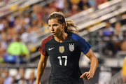 Tobin Heath #17 of the US Women's National Team controls the ball against Thailand on September 15, 2016 at MAPFRE Stadium in Columbus, Ohio. The United States defeated Thailand 9-0.