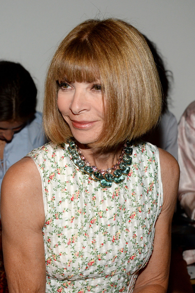 Anna Wintour Banned Ariana Grande From Wearing Ponytail: Anna Wintour Photos Photos