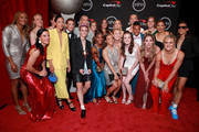 Members of the United States Women's National Soccer Team, winners of the Best Team award, pose during The 2019 ESPYs at Microsoft Theater on July 10, 2019 in Los Angeles, California.