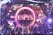 Confetti drops after the United States Women's National Soccer Team accepted the Best Team award onstage during The 2019 ESPYs at Microsoft Theater on July 10, 2019 in Los Angeles, California.