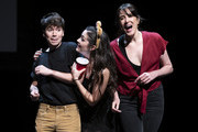 """Noah Galvin, Isabelle Fuhrman and Dee Rosciloi perform during """"The 24 Hour Musicals"""" at The Irene Diamond Stage, Pershing Square Signature Center on June 17, 2019 in New York City."""
