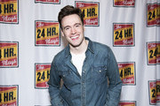 """Erich Bergen attends """"The 24 Hour Musicals"""" at The Irene Diamond Stage, Pershing Square Signature Center on June 17, 2019 in New York City."""
