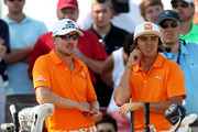 Rickie Fowler and Jonas Blixt Photos Photo