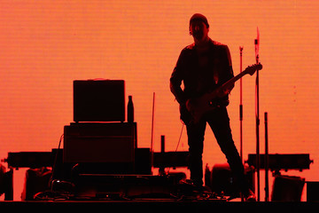 The Edge U2 Performs at University of Phoenix Stadium