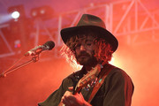 Angus Stone performs live on stage at The Falls Music and Arts Festival on December 31, 2012 in Lorne, Australia.