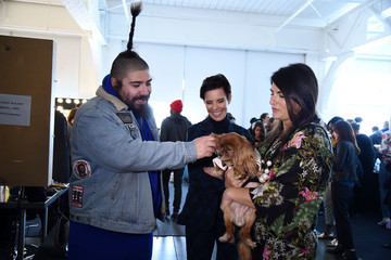 The Fat Jew Karen Walker - Backstage - Mercedes-Benz Fashion Week Fall 2015