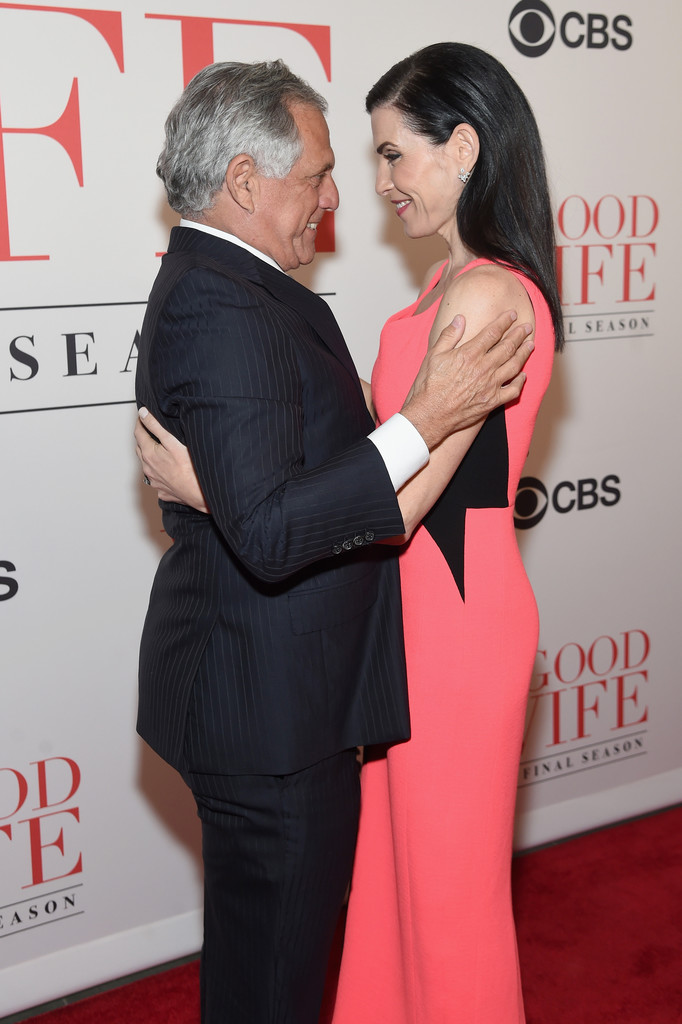 leslie moonves photos quotthe good wifequot finale party 88