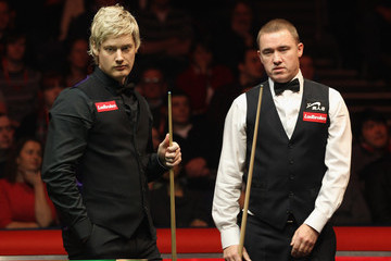Stephen Hendry Neil Robertson The Masters - Day Four