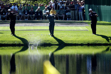 Tiger Woods Mark O'Meara The Masters - Preview Day 3