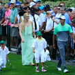 Lindsey Vonn and Charlie Woods Photos
