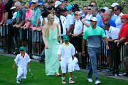 Lindsey Vonn and Charlie Woods Photos Photo