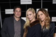 Actors Jason Biggs, Jaime King, and Jenny Mollen attend The Note Pad Powered by the Samsung Galaxy Note 4 on October 24, 2014 in Los Angeles, California.