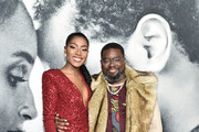 """Nia Franklin and Lil Rel Howery attend the world premiere of """"The Photograph"""" World at SVA Theater on February 11, 2020 in New York City."""