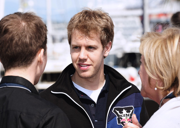 Redbull Formula 1 driver Sebastian Vettel attends the Redbull Formula 1 Energy Station on May 14, 2010 in Monaco, Monaco.
