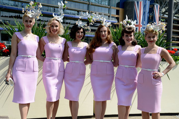 The Tootsie Rollers Royal Ascot 2015 - Fashion, Day 1