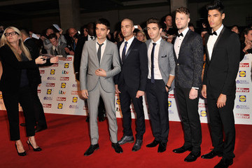 The Wanted Arrivals at the Pride of Britain Awards