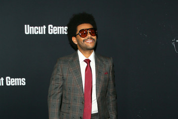 """The Weeknd Premiere Of A24's """"Uncut Gems"""" - Arrivals"""