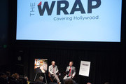 TheWrap's Steve Pond and Teller participate in a Q&A following TheWrap's Awards and foreign screening series - 'Tim's Vermeer' at Landmark Theaters on November 6, 2013 in Los Angeles, California.
