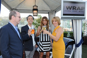 Writer Steve Pond, producer Brian Grazer, Gigi Levangie Grazer and TheWrap's CEO & Editor-in-Chief Sharon Waxman attend TheWrap's First Annual Emmy Party - Inside at The London Hotel on June 5, 2014 in West Hollywood, California.