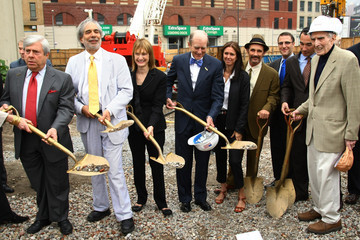 Harvey Lichtenstein Theatre For A New Audience's Classical Theater Groundbreaking Ceremony