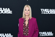 """Candace Bushnell attends the screening of """"Thelma & Louise"""" Women In Motion at Museum of Modern Art on January 28, 2020 in New York City."""
