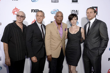 """Theo Rossi Dayton Callie Premiere Of FX's """"Sons Of Anarchy"""" Season 6 - Red Carpet"""