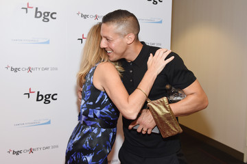Theo Rossi Annual Charity Day Hosted By Cantor Fitzgerald, BGC and GFI - BGC Office - Arrivals