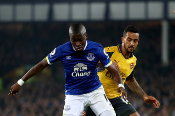 Theo Walcott Everton v Arsenal - Premier League