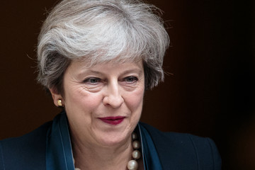 Theresa May Theresa May Holds First PMQ's Since the Summer Recess