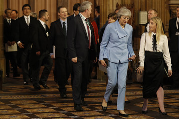 Theresa May State Opening Of Parliament