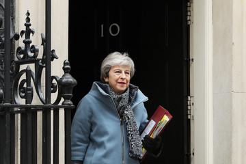 Theresa May European Best Pictures Of The Day - March 27, 2019