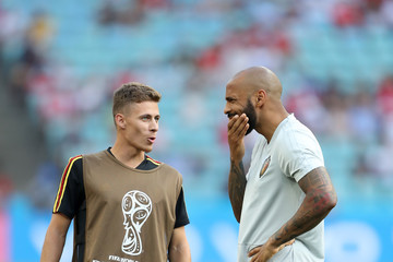 Thierry Henry Belgium Vs Panama: Group G - 2018 FIFA World Cup Russia