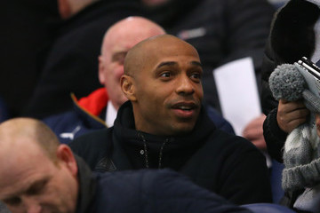 Thierry Henry Manchester City v Arsenal: FA Youth Cup Semi Final, First Leg
