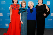 (L-R) Singer Faith Hill, presenter Margaret Alkek Williams, honoree Barbara Bush and President & CEO U.S. Fund for UNICEF Caryl Stern attend the UNICEF Audrey Hepburn Society Ball honoring former first lady Barbara Bush at the Hilton Americas Hotel on November 6, 2015 in Houston, Texas.
