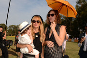 (L-R) Designer Rachel Zoe and host Delfina Blaquier attend the Third Annual Veuve Clicquot Polo Classic at Will Rogers State Historic Park on October 6, 2012 in Pacific Palisades, California.