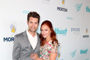 Actor Drew Seeley (L) and Amy Paffrath attend the Thirst Project's 8th Annual thirst Gala at Beverly Hills Hotel on April 18, 2017 in Beverly Hills, California.