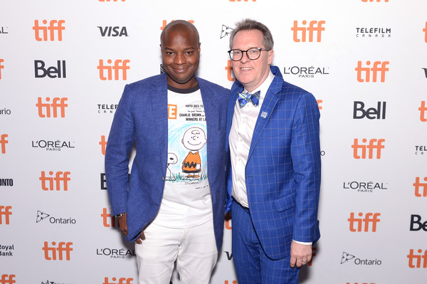 'The Capote Tapes' TIFF Premiere Party [the capote tapes,event,premiere,outerwear,eyewear,suit,carpet,fashion design,brand,thom powers,ebs burnough,toronto,canada,tiff premiere party]