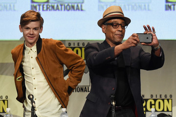 Thomas Brodie-Sangster The 20th Century FOX Panel at Comic-Con International 2015