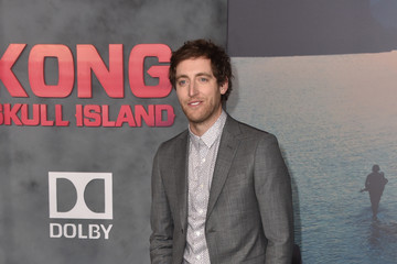 Thomas Middleditch Premiere of Warner Bros. Pictures' 'Kong: Skull Island' - Arrivals