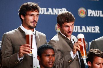 Thomas Mueller FC Bayern Muenchen Traditional Bavarian Dress Kitting Out