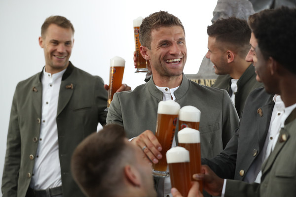FC Bayern Muenchen And Paulaner Photo Session []