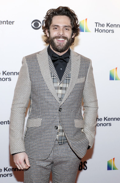 42nd Annual Kennedy Center Honors [hair,suit,facial hair,beard,hairstyle,carpet,fashion,red carpet,formal wear,outerwear,annual kennedy center honors,the kennedy center,washington dc,thomas rhett]