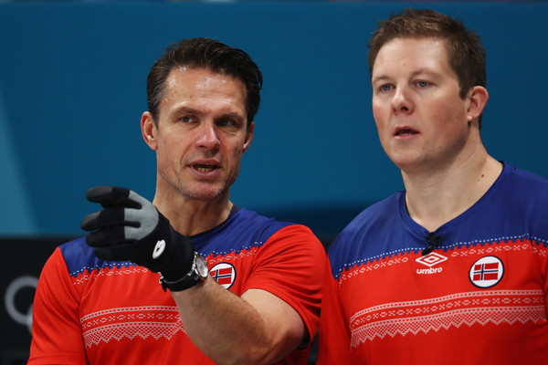 Curling - Winter Olympics Day 9